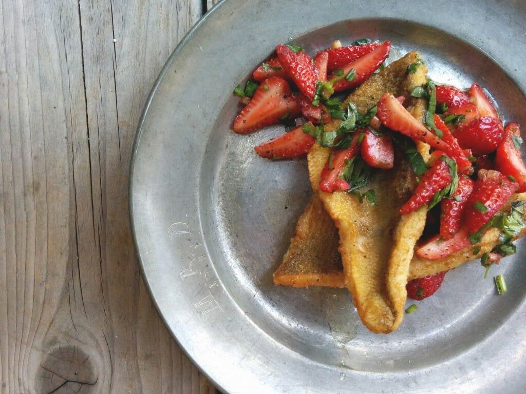 Perch&StrawberrySalsa